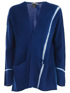 Suzusan Knitted Cardigan - Royal Bluelight Grey