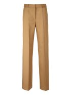 Stella McCartney Drill Wide-leg Trousers - Camel