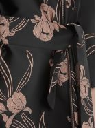 Herno Bicolor Overcoat - Nero/rosa
