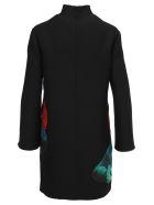 Valentino Lovers Print Dress - BLACK MULTICOLOR