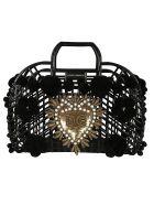 Dolce & Gabbana Pom Pom Tote - Black