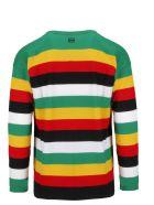 Loewe Striped Fine Knit Sweater - Green Yellow