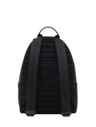 Dior Homme Backpack With New Logo Bee - Black