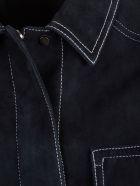 DROMe Belted Coat - Blue