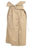 Jacquemus La Jupe Manteau Skirt Short - Beige