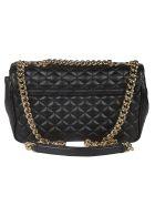 Dolce & Gabbana Quilted Shoulder Bag - black