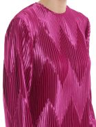 Givenchy Pleated Dress - Orchid Purple