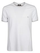 Fay Logo Embroidered T-shirt - Bianco