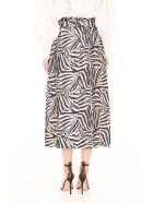 Zimmermann Safari Print Skirt - ZEBRA ZEB (Grey)