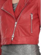 Bully Leather Jacket - Red
