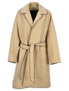 Balenciaga Cocoon Coat - BEIGE