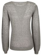 Isabel Marant Ribbed Sweatshirt - Grey
