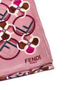 Fendi Printed Scarf - Lilla multicolor