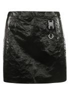 Alyx Tyvek Mini Skirt - Nero