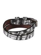 Alexander McQueen Double-wrap Bracelet - Nero