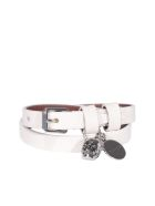 Alexander McQueen Skull Bracelet - Off white