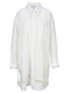Maison Margiela Martin Margiela Sheer Layered Shirt - WHITE