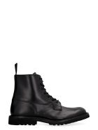 Tricker's Burford Leather Lace-up Boots - black