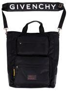 Givenchy Ut3 Nylon Tote Bag - Black