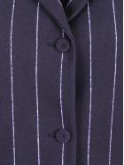 La Petit Robe Di Chiara Boni La Petite Robe By Chiara Boni 'fedora' Polyamide Blazer - Bonnie Navy