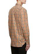 Burberry Equestrian Knight Shirt - Cammello check