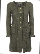 Charlott Buttoned Coat - Verde Militare