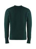 Drumohr Wool Crew Neck Sweater - green