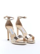 Jimmy Choo Sandal - Light Gold