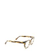 AHLEM Ahlem Rue Duroc Yellow Lines Glasses - YELLOW LINES