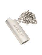 AMBUSH Lighter Holder Necklace - SILVER