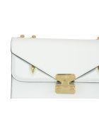 Fendi Medium Crossbody Bag Bugs Bag - White