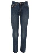Vivienne Westwood Anglomania Anglomania Printed Jeans - BLUE