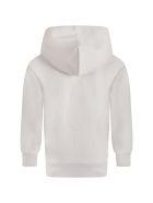 Balenciaga Beige Sweatshirt For Kids With Logo - Beige