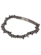 Alexander McQueen Silver-tone Brass Bracelet - Silver