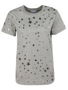 RED Valentino Star Print T-shirt - grey