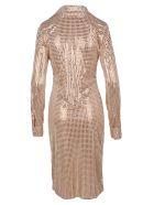 Bottega Veneta Embellished Dress - Skin