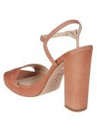 Stuart Weitzman Buckled Sandals - Desert Rose