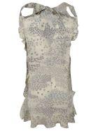 RED Valentino Star Print Dress - grey