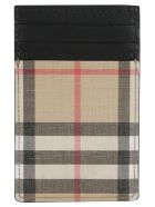 Burberry Elmer Vintage Check Card Holder - Archive Beige