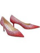 Jimmy Choo Love 65 Glitter Pumps - Pink