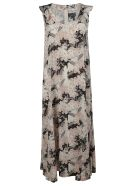 RED Valentino Floral Print Dress - pink