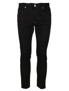 Dsquared2 Black Cotton Jeans - Black