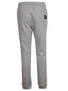 Versace Logo Print Track Pants - Gray