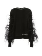 Valentino Pull With Feathers - NERO (Black)