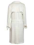 8PM Edberg Trench Coat - White