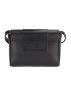 See by Chloé See By Chloe' Leather Hopper Crossbody Bag - BLACK