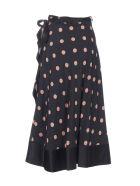 Tory Burch Pois Skirt - Black