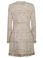 Tagliatore Classic Tweed Coat - Beige