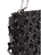 Paco Rabanne 'iconic 1969' Leather Shoulder Bags - Black