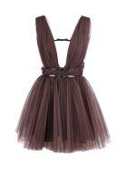 Brognano Polyamide Dress - Brown